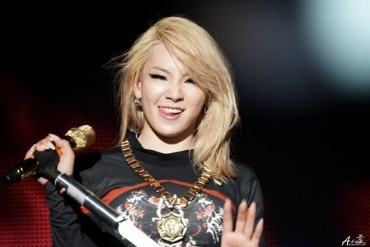 """""""Tài năng hoàn toàn có thể làm lu mờ nhan sắc"""" là câu nói chính xác nhất dành cho CL. Một số cư dân mạng đùa rằng trưởng nhóm 2NE1 không thể nào xuất hiện mà không trang điểm mắt."""