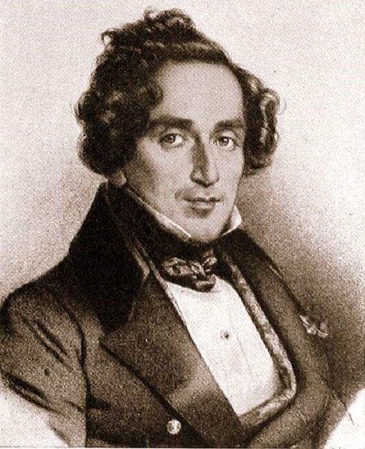 Hình ảnh nhạc sĩ Giacomo Meyerbeer