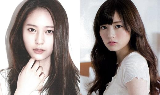Krystalf(x)và Mai Shiraishi có thể ngoại hình không giống nhau thế nhưng khí chất toát ra từ họ lại rất tương đồng.