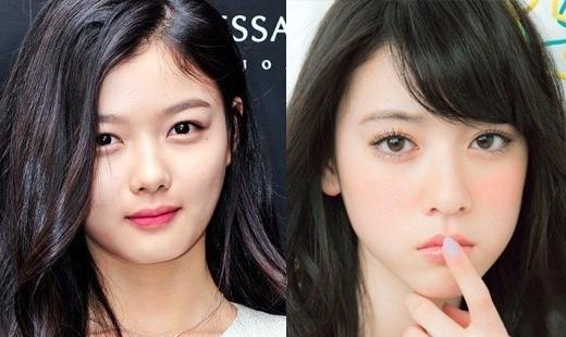 Khí chất mạnh mẽ không lẫn vào đâu được của Kim Yoo Jung đều được nhìn thấy ở Ayaka Miyoshi.