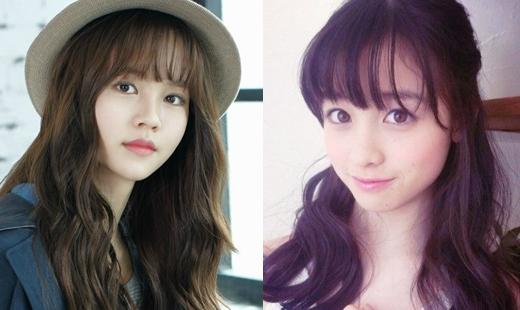 Kim So Hyun và Risa Kannacũng được nhận xét rằng rất giống nhau với vẻ đẹp tươi trẻ, tràn đầy sức sống.