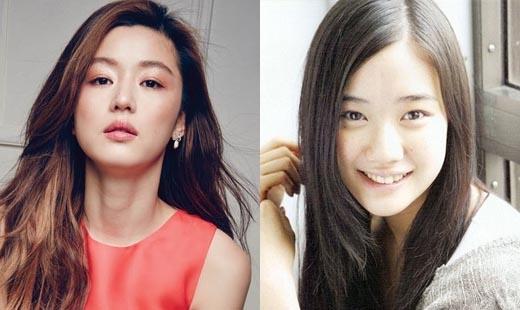 Yu Aoi dường như là phiên bản thời thiếu niên của mợ chảnhJun Ji Hyun.