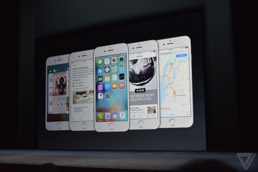 Những màu sắc của iPhone 6s và 6s Plus.
