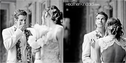 Giây phút xúc động trong lễ cưới của những cặp vợ chồng son. (Ảnh: Internet)