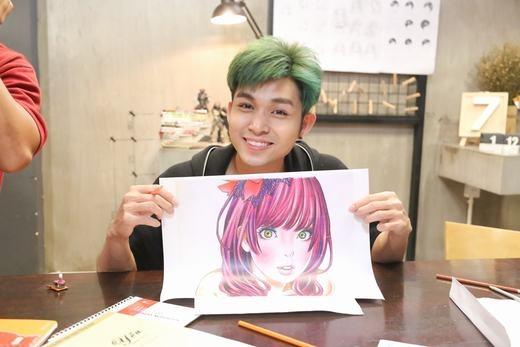 Mái tóc xanh nổi bật cùng nụ cười tỏa nắng giúp Jun nhanh chóng đốn tim hàng ngàn cô gái. - Tin sao Viet - Tin tuc sao Viet - Scandal sao Viet - Tin tuc cua Sao - Tin cua Sao