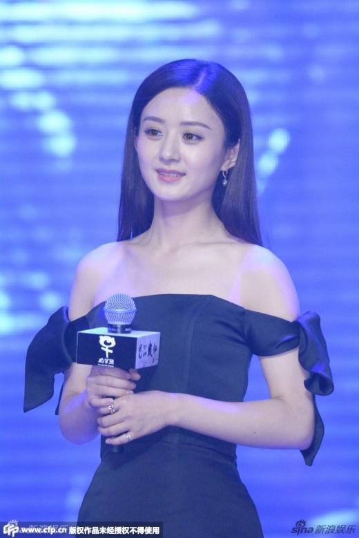 Nữ diễn viên tiếp tục ghi điểm bằng vẻ đẹp ngây thơ với đôi mắt luôn long lanh.
