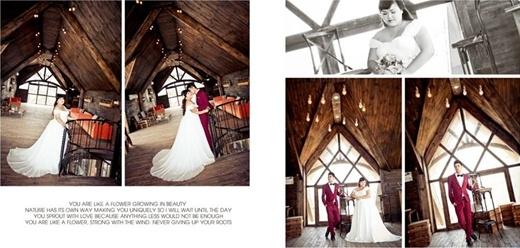 Bộ ảnh cưới được thực hiện trong hai ngày tạiQuảng Ninh vàHà Nội.