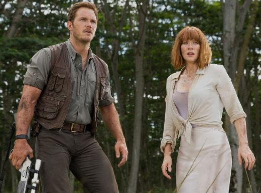 Bộ phim kể về cuộc trốn chạy khỏi bầy khủng long với Chris Pratt vàBryce Dallas Howard thủ vai chính. Dù trong tình huống rất hỗn loạn nhưng cặp đôi diễn viên chính vẫn thể hiện được tình cảm nồng cháy và cùng nhau vượt qua nguy hiểm.