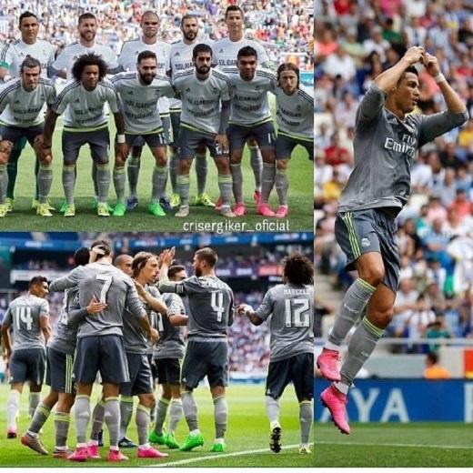 Nã 5 bàn, Cristiano Ronaldo khoe ảnh giường chiếu