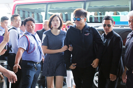 Hình ảnh của Mã Quốc Minh trong chuyến bay sáng nay.