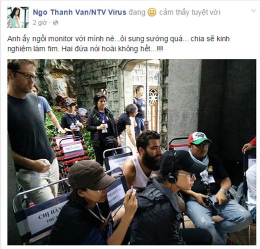 Ngô Thanh Vân sung sướng vì được đạo diễn KingKong 2 bất ngờ ghé thăm - Tin sao Viet - Tin tuc sao Viet - Scandal sao Viet - Tin tuc cua Sao - Tin cua Sao