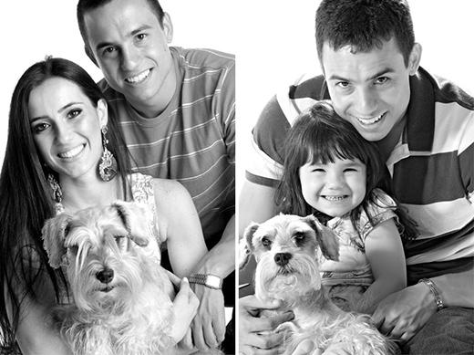 Khi Raisa được 3 tuổi, anh Rafael quyết định tái dựng lại những bức hình của hai vợ chồng được chụp trước khi cưới.