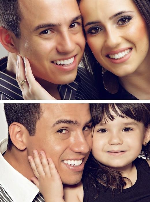 Sụt sịt với bộ ảnh cha và con gái dành tặng người mẹ quá cố