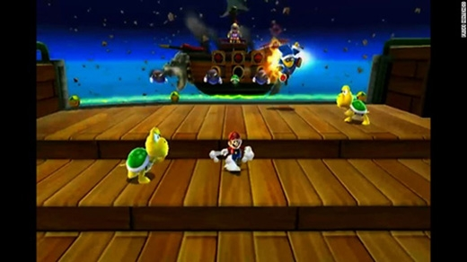 Super Mario Galaxy là phiên bản 3D của Super Mario 64 dành cho máy chơi game Wii trong năm 2007.