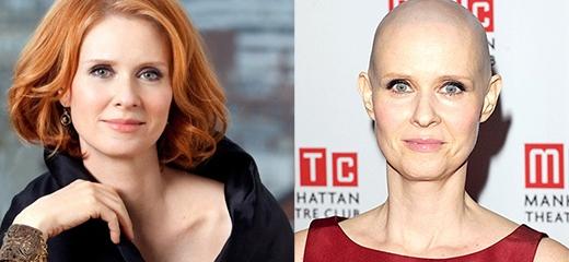 Để hoàn thành vai diễn bệnh nhân ung thư buồng trứng, Cynthia Nixon đã phải cạo đi mái tóc của mình vào tháng 1/2012.