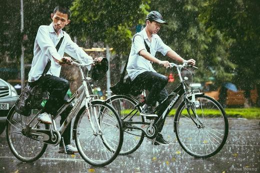 Thu Hà Nội - Có những ngày mưa đẹp mê hồn người...