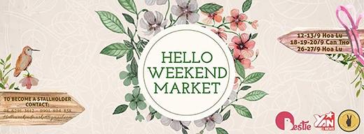 Thả ga mua sắm cùng Hello Weekend Market Cần Thơ
