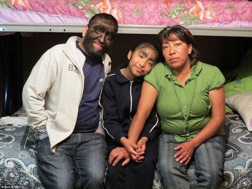 Gia đình Jesus khi cònhạnh phúc. (Ảnh: Internet)