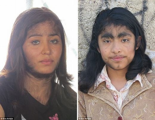 Hai cô con gái của Jesus. (Ảnh: Internet)