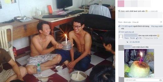 Những kiểu sinh nhật bá đạo chỉ có ở thời sinh viên