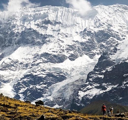 Cung đường trekking Salkantay cũng hùng vĩ không kém Inca Trails - con đường dẫn đến tàn tích Machu Picchu, Peru. (Nguồn IG @perutravelnow)