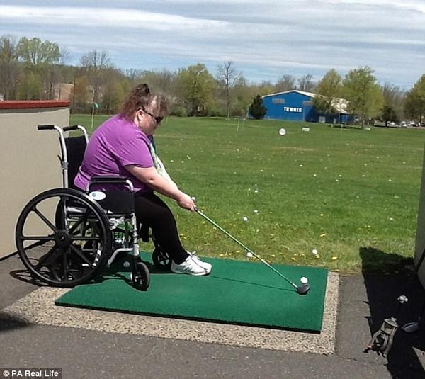 Cô cho biết mất một bên chân khiến cô cảm thấy con người mình hoàn thiện hơn.