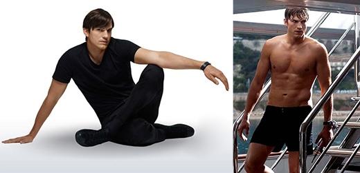 Ashton Kutcher chia sẻ rằng anh thích phương pháp Bikram yoga vì muốn thử thách bản thân nhiều hơn. Nam diễn viên còn nói thêm, để đạt hiệu quả cao anh thường tưởng tượng mình đang ở trên một sa mạc không có nước để tạo áp lực lớn và cố gắng vượt qua.
