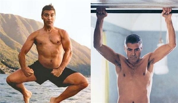 Người đàn ông quyến rũ nhất hành tinh - George Clooney cho biết anh dành ra ít nhất 90 phút để luyện tập yoga mỗi ngày. Bikram là bài tập yoga anh lựa chọn để tăng cường sức khỏe. Đây là phương pháp tập yoga trong một căn phòng nóng và ẩm, rất hiệu quả cho việc giảm cân và tăng cơ bắp.
