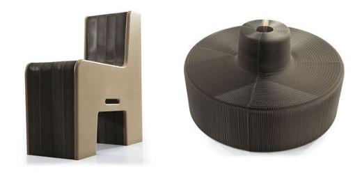 Chiếc ghếcó thể mở rộng thành một băng ghế nếu cần thiết. Nó có sức chứa lên tới 16 người.(Ảnh Internet)