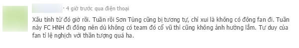 Một cư dân mạng cho biết Sơn Tùng cũng bị tình trạng này trong đêm chung kết. - Tin sao Viet - Tin tuc sao Viet - Scandal sao Viet - Tin tuc cua Sao - Tin cua Sao
