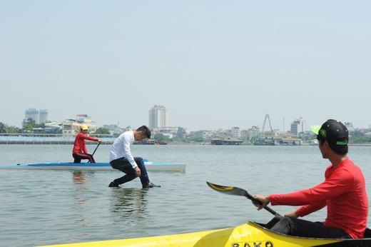 Một trường hợp đi bộ trên mặt nước tại Việt Nam. (Ảnh: Internet)