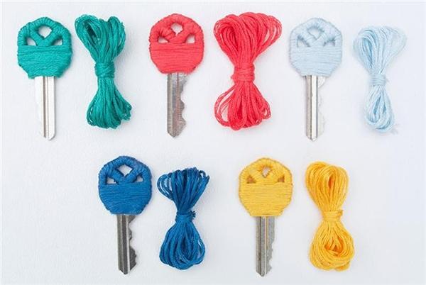 Bỏ túi những ý tưởng trang trí chìa khóa siêu dễ thương