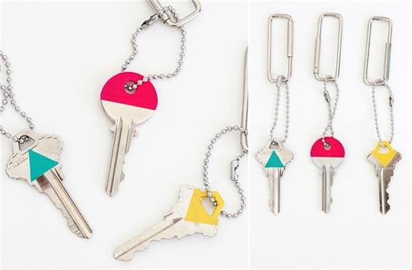 Sơn chìa khóa theo các ý tưởng hình học.