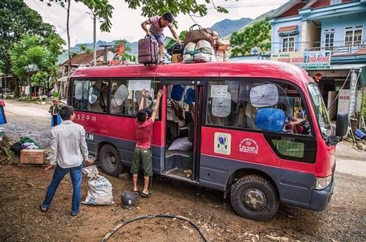Trạm dừng trên đường đến Đồng Văn, Hà Giang.(Nguồn: Matador Network)