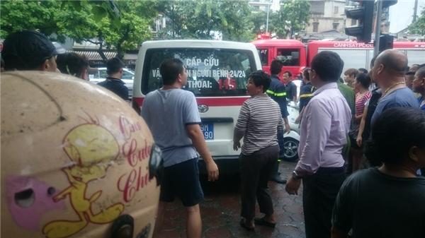 Lực lượng cứu hộ - cứu nạn đã nhanh chóng có mặt tại hiện trường. (Ảnh: FB)