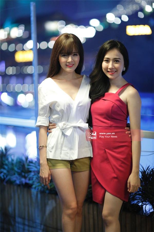 Lilly Luta xinh đẹp đọdáng với Lona Huỳnh.