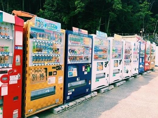 Nhật Bản là nước có nhiều máy bán hàng tự động nhất.(Ảnh: Internet)
