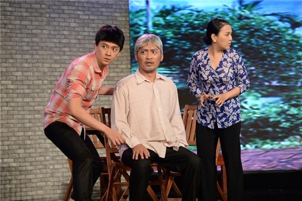 "Chàng ca sĩ điển trai Ngô Kiến Huy vào vai con của ""đại gia"" Tiến Luật. - Tin sao Viet - Tin tuc sao Viet - Scandal sao Viet - Tin tuc cua Sao - Tin cua Sao"