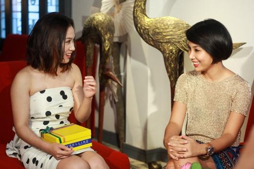 Quỳnh Hương rất trông chờ vào cuộc hẹn hò cùng Nhikolai Đinh.