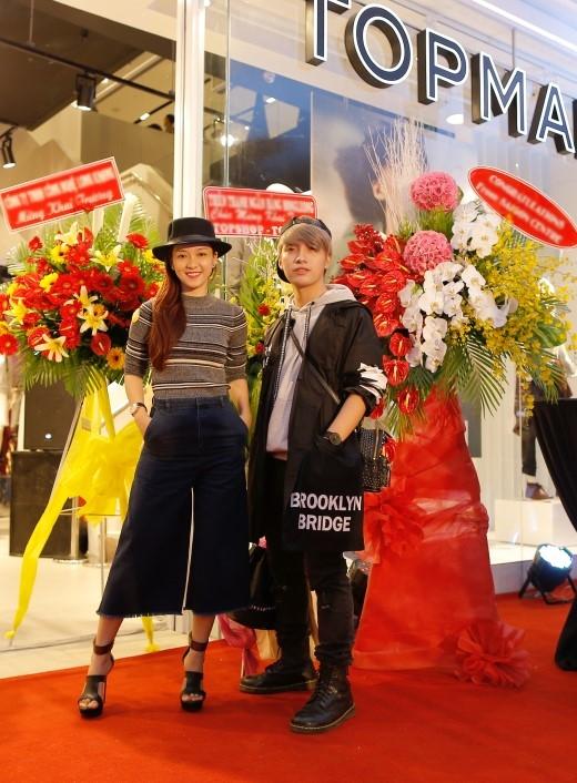 Dàn sao Việt trong sự kiện khai trương cửa hàng TOPSHOP TOPMAN thứ ba