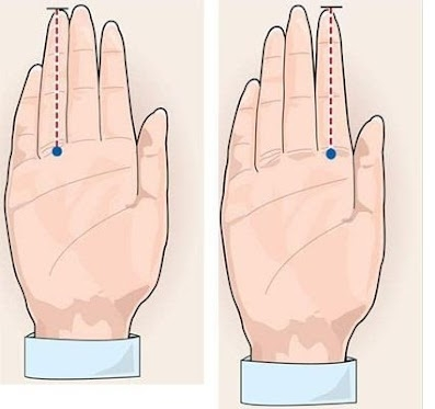 Hãy duỗi hết các ngón tay ra rồi khép khít chúng lại, giơ bàn tay ra trước mặt, mở lòng bàn tay, giữ ở tư thế đối diện với mặt và quan sát.