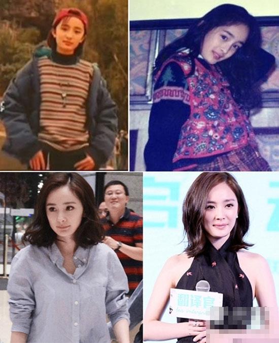 Từ thời 3 tuổi, Dương Mịchđã được khán giả biết đến với tư cáchlà diễn viên nhí. Cô sở hữu nét đẹp thuần khiết và đôi chân thon dài.