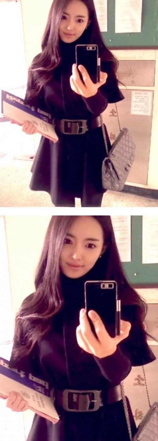 Lee Na Young được cho là xinh đẹp và rạng rỡ không thua kém những diễn viên điện ảnh. (Ảnh : Internet )