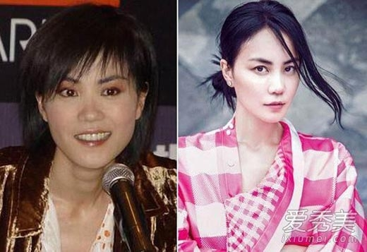 Nhiều người thắc mắc tại sao một tài tử ngoài 30 như Tạ Đình Phong lại say đắm đàn chị Vương Phigần 50. Quả thật, tuổi tác chỉ là vấn đề con số với Vương Phi. Hình ảnh trước và sau 10 năm của cô hoàn toàn không có nhiều thay đổi.