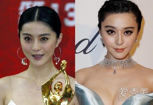 Theo thời gian, Phạm Băng Băng trở nên đẹp hơn, mũi cao và gương mặt thanh tú hơn. Cri cho rằng, vẻ đẹp của cô đối nghịch hoàn toàn vớithời gian.