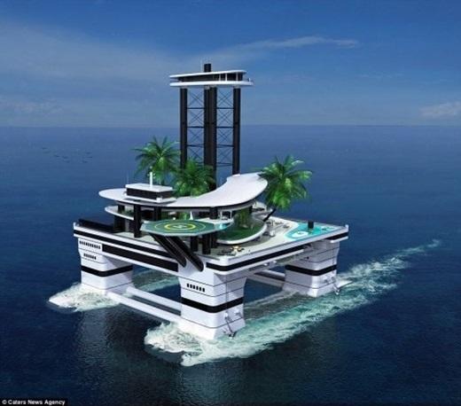 Hòn đảo trong mơ của giới siêu giàu