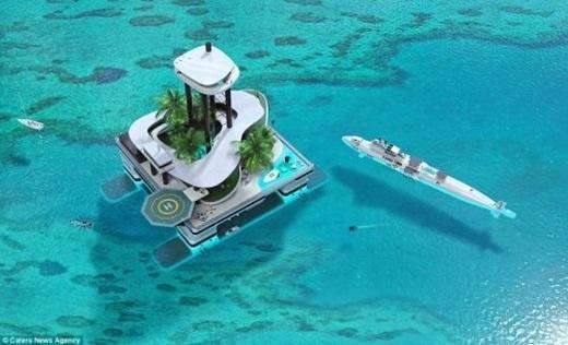 Hòn đảo có thể đến bất cứ địa điểm nào trên thế giới