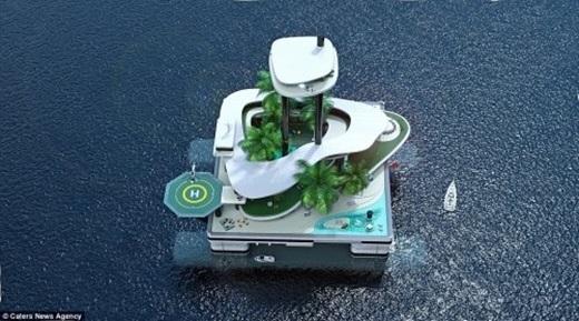 Đảo nổi sẽ là hình mẫu lý tưởng trong tương lai không xa.