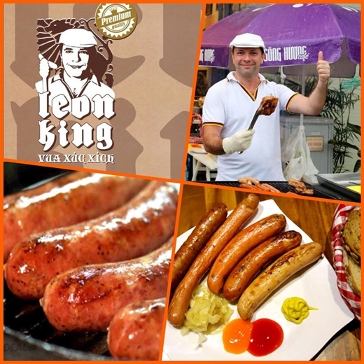 Vua xúc xích Leon King nổi tiếng cũng có mặt tại Hello Weekend Market nhé.