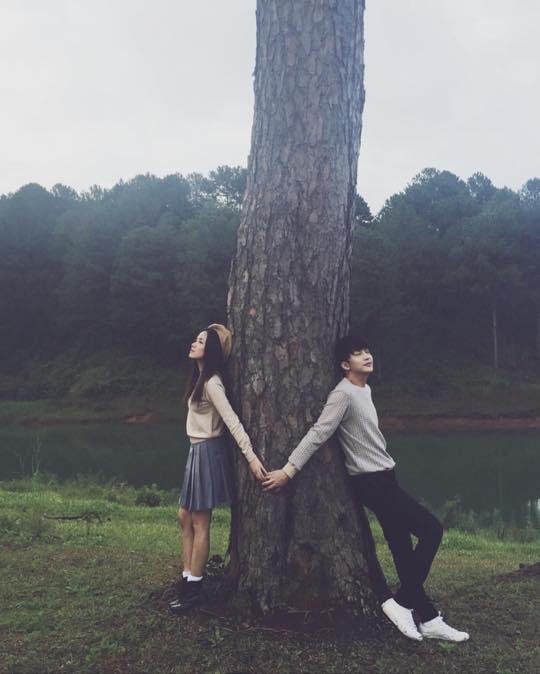 """Bức ảnh trên instagram của Phương Ly với câu hỏi: """"Lãng mạn nhất Đà Lạt chưa?""""."""